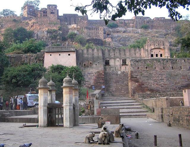Ranthambore Fort Tourist Attraction Sawai Madhopur Rajasthan