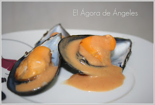 Mejillones en salsa  El Ágora de Ángeles