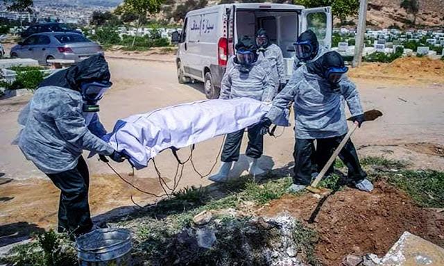 وفيات كورونا،في تونس
