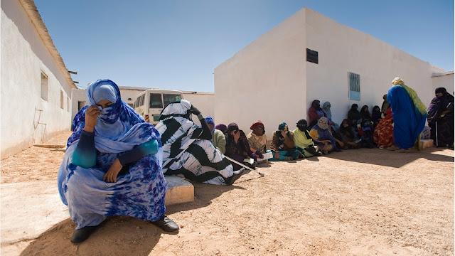 عمليات سرقة و تحويل المساعدات الإنسانية المخصصة لمخيمات تندوف لا زالت مستمرة