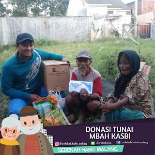 Mbah Kasbi : Donasi Tunai