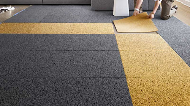 Lantai karpet untuk ruangan di rumah