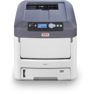 Oki Data C711DN Color Laser Printer Review and Driver Download