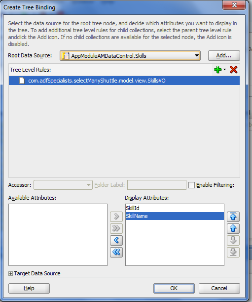 ADF Specialists Blog: Master Form Detail Multi Select