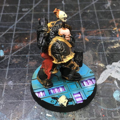 Blackstone Fortress Chaos Space Marines WIP