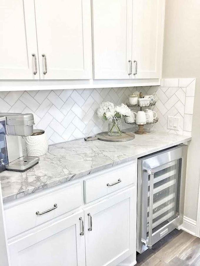 100 Beautiful Kitchen Remodel Back Splash Tile Ideas