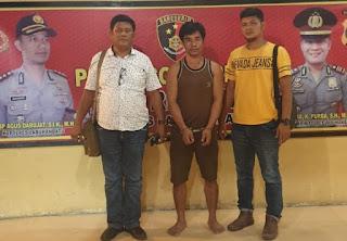 Unit Resum Polres Labuhanbatu Amankan Penulis Togel, Bandar Kabur