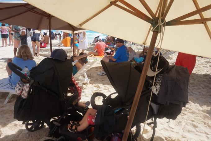 Lasten kanssa Bahamalla, Nassau ja Paradise Beach