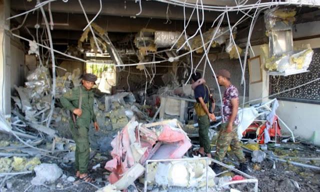 اليمن، المليشيات الحوثية،  الجيش اليمني، الحوثيون،  قتلى وجرحى من المدنيين في قصف صاروخي غربي اليمن، حربوشة نيوز