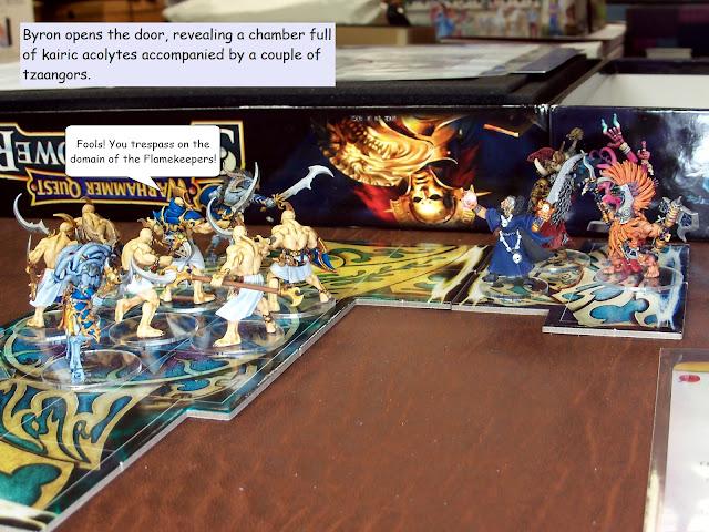 warhammer quest silver tower trial of aqshy