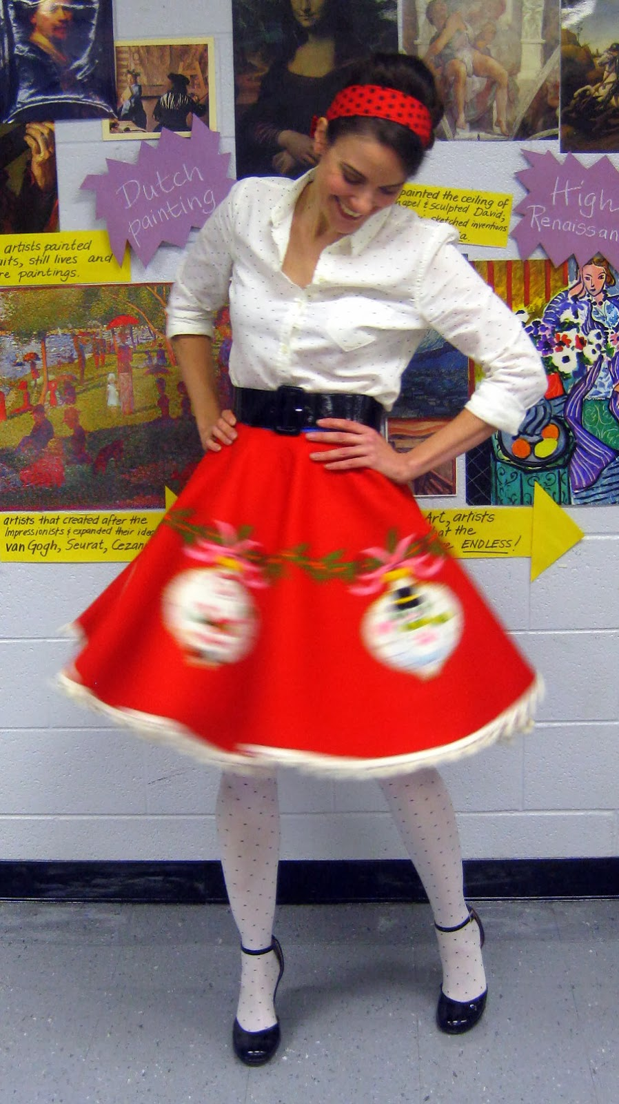 Cassie stephens diy tree skirt to lady skirt in 60 minutes or less wednesday december 4 2013 solutioingenieria Gallery