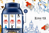 Logo Kusmi Tea Game Time: vinci gratis un regalo Kusmi Tea