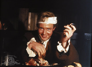 Albert Finney in eating scene of Tom Jones movie