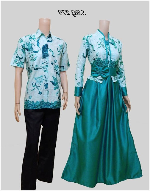 Model Baju Batik Couple Anak Muda