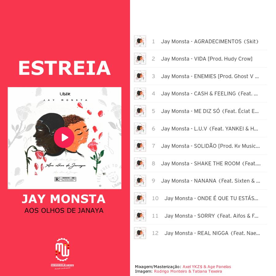 """Jay Monsta renasce em """"Olhos de Janaya"""" um EP carregado de nostalgia, derrotas e conquistas."""