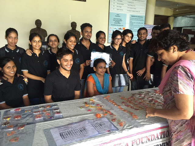 VES Institute of Technology student extends Aadhar to visually challenged girls
