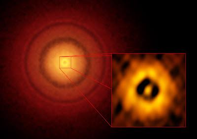 Nuovo pianeta rinvenuto in sistema stellare vicino