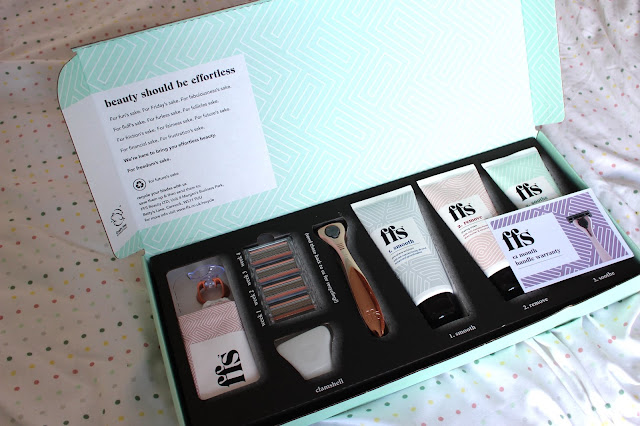 FFS women's razor subscription service 2