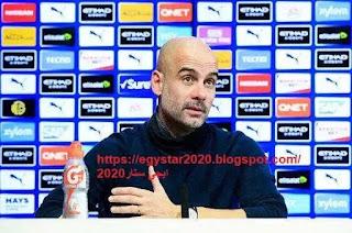 """مؤتمر السيد بيب """"جوارديولا"""" مدرب نادي مانشستر سيتي والذي يخص لقاء نورويتش سيتي في الجولة ال38 من الدورى الانجليزى"""