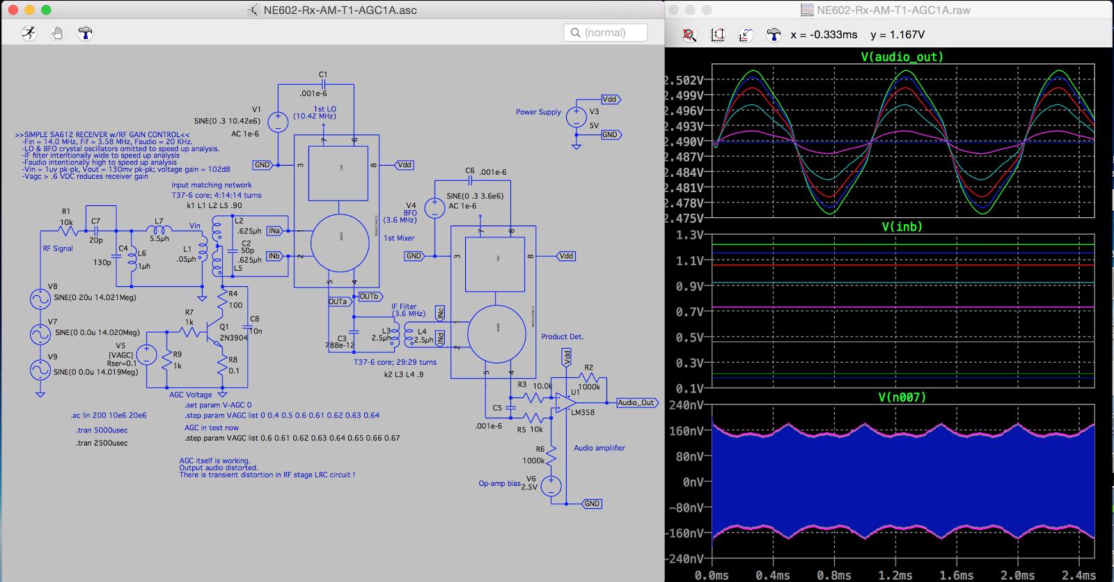 Radio & Electronics / ラジオの勉強: SA612/NE612 SA602/NE602 14MHz