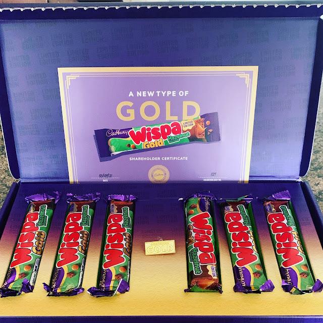 Wispa Gold Hazelnut Limited Edition