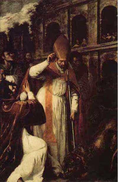 Martirio Sao Genaro artesmisia gentileschi - Artemisia Gentileschi - os pintores caravaggescos