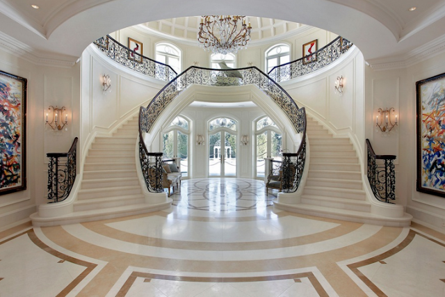5 Luxury Spectacular Mansion Staircases