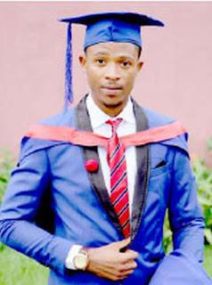 Mr. Egbe Agala Eja UNICAL Best Student