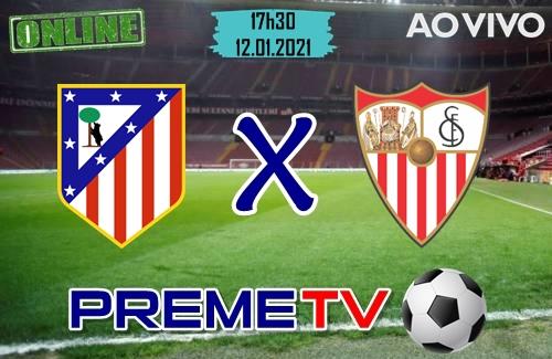 Atletico Madrid x Sevilla Ao Vivo