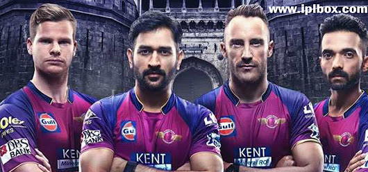 IPL 2017 :-Rising Pune Supergiants Squad strengths, weakness and prediction ~ iplbox