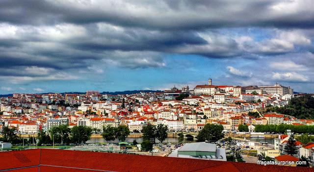 Coimbra vista do mirante do Convento de Santa Clara