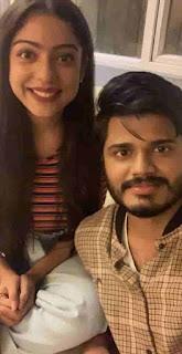 Anand Devarakonda With Varsha Bollamma