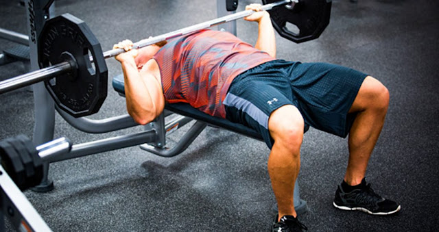 Bench press chest workout for men