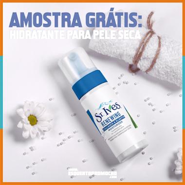 Amostra Grátis - Hidratante para pele seca
