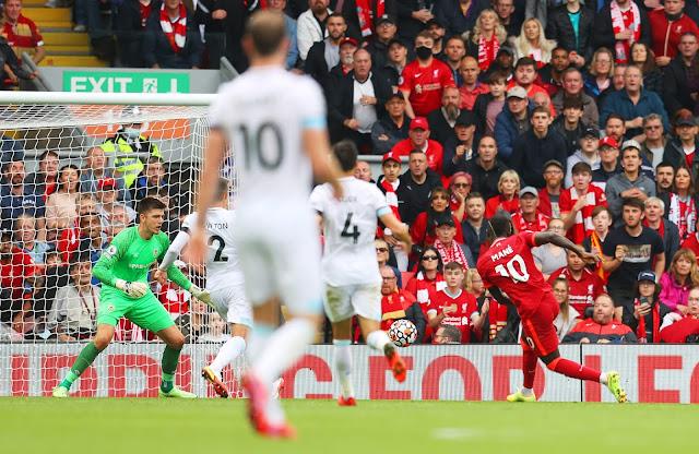 ملخص واهداف مباراة ليفربول وبيرنلي (2-0) الدوري الانجليزي