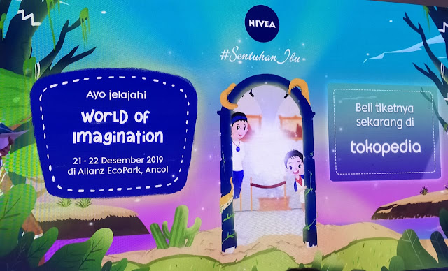 NIVEA Hadirkan Wahana Bermain 'World of Imagination'