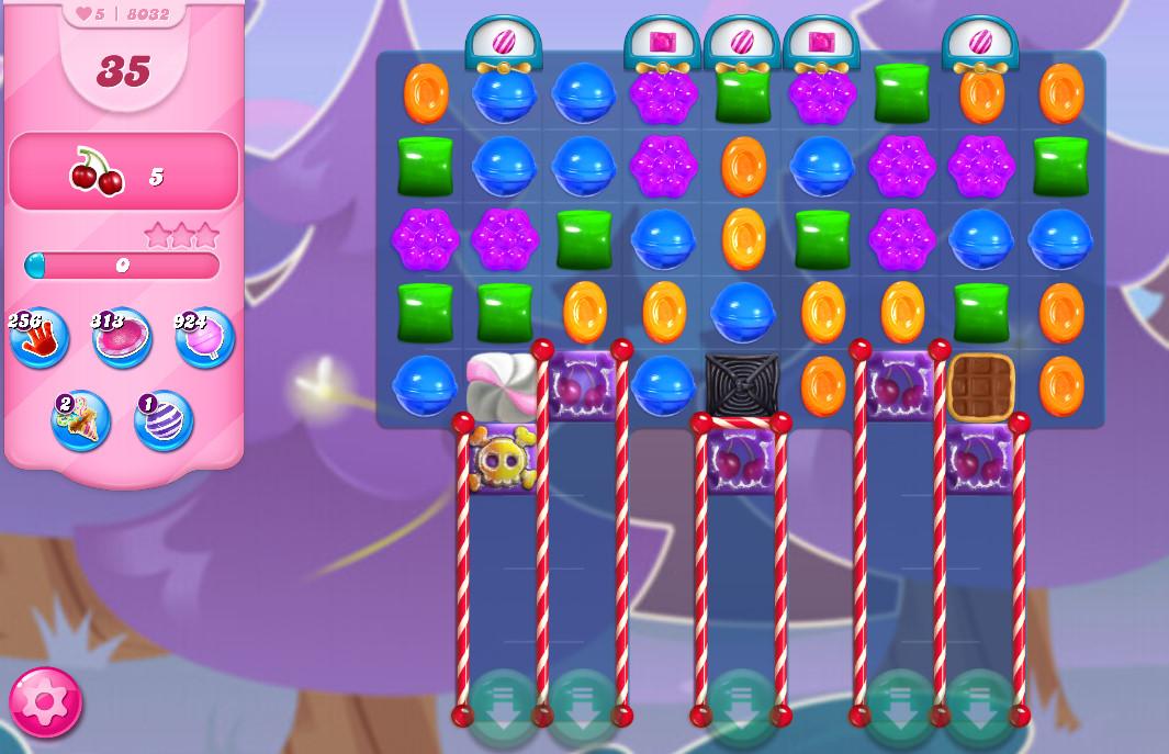 Candy Crush Saga level 8032