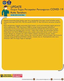 Press Release COVID-19 Tarakan 6 Mei 2020 - Tarakan Info