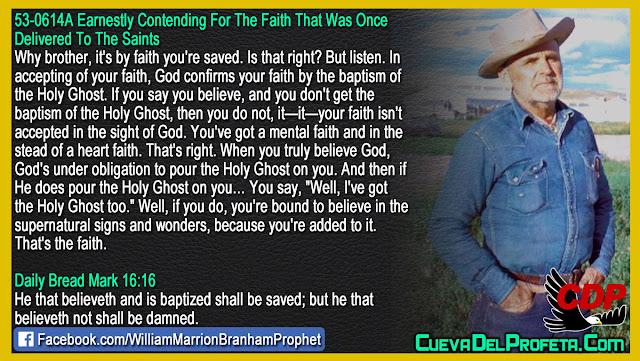 Mental faith vs Heart faith - William Branham Quotes