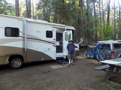 Paul at the Campsite