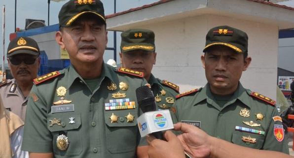 600 Prajurit TNI Korem 071/WK Siap Amankan Arus Mudik
