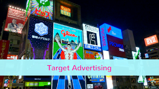 With social media you can do targeted advertising.