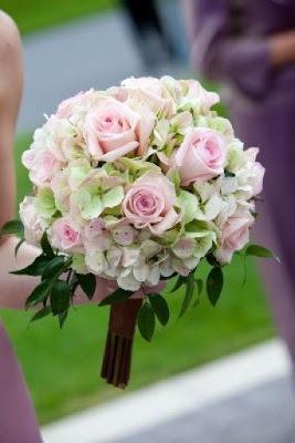 Ramos de novia con hortensias