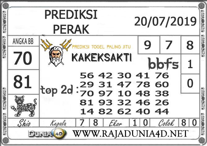 """Prediksi Togel """"PERAK"""" DUNIA4D 20 JULI 2019"""