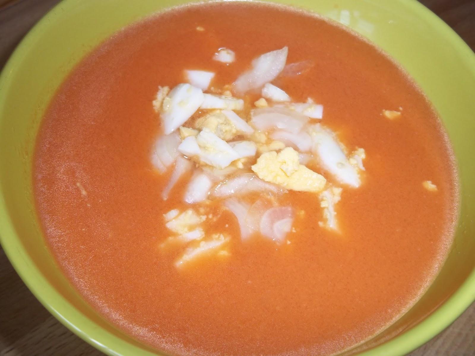 Gazpacho Sin Pan O Para Los Susceptibles Sopa Fría De