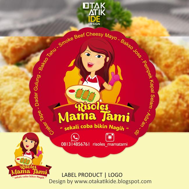 Label Merek Resoles Mama Tami - Otakatikide