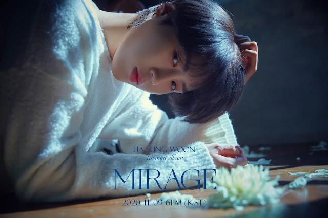 Ha Sungwoon 하성운 regresa con MIRAGE