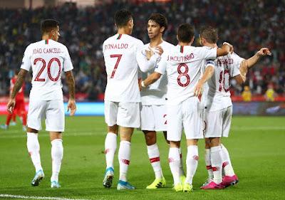 Video Cuplikan Gol: Lituania 1-5 Portugal (Euro 2020)