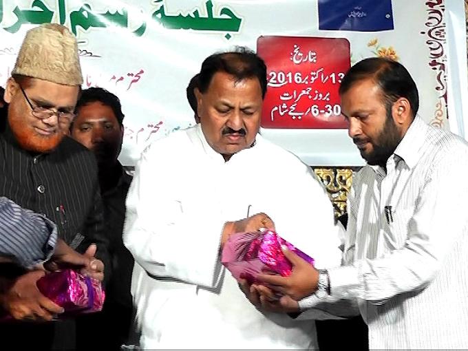 ڈاکٹر عزیز سہیل کی تصنیف مولوی محمد عبدا لغفارحیات وخدمات تصنیف کا رسم اجراء