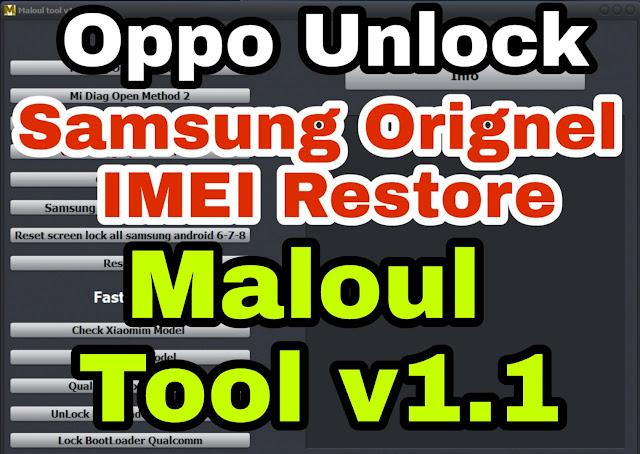Samsung Orignel Imei Restore Adb-Fastboot (Malout Tool) Download Free Full Crack